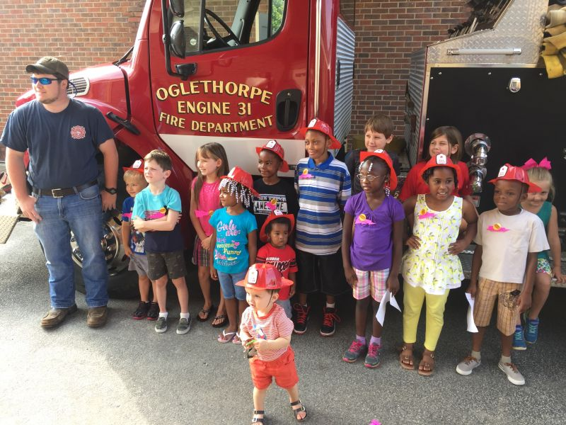Summer Reading Program about Fire Safety!