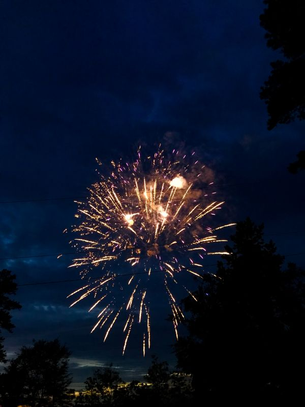 July 4th Fireworks at Whitewater Creek Park